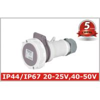 China Low Voltage Industrial Coupler , Industrial Electrical Plugs And Sockets on sale