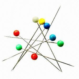 China Pearl Head Pins for Cyanoacrylate Adhesive wholesale