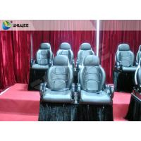 China Red Color Electronic System 5D Cinema Equipment Motion Seat With Special Effect wholesale