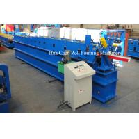 China Panasonic PLC Control Water Gutter Roll Forming Machine For Sale wholesale