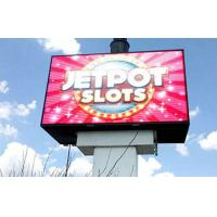 China Outdoor  Full color led screen board P6 with smooth display effect and Large viewing angle wholesale