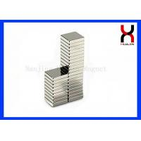 China Rare Earth Strong NdFeB Motor Magnetic Block Industrial Rare Earth Rectangle Magnet on sale