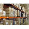 China Powder Coating Pallet Storage Racks 88 * 66 * 2.0mm Pallet Rack Shelving wholesale