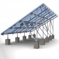China 60m/s Solar Panel Ground Mounting Systems For Photovoltaic PV Array SGS Approved wholesale