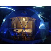 China Outdoor PVC Heavy Duty Geodesic Tent Dome Waterproofing Half Sphere wholesale