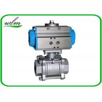 Quality Complete Encapsulation Sanitary Ball Valves Customized For Special Environments for sale