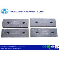 China Wear resistant Ni-hard Cast Iron Liners used in Cement Mills and Mining Equipment wholesale