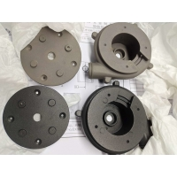 China Black Anodizing ADC12 A380 ADC11 Motor Fan Cover wholesale