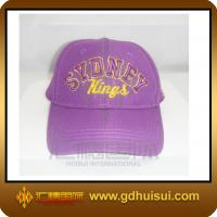 China 100% cotton fitted baseball cap wholesale