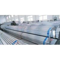 China ASTM A53 GrB 4 Inch DN40x4mm thickness hot Dip Galvanized Round Steel Pipe/schedule 80 galvanized pipe/carbon steel pipe wholesale