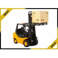 China 2 Ton Manual Fork Lift Trucks Hydraulic 3 Meter Lift Height With Adjustable Safety Seat wholesale