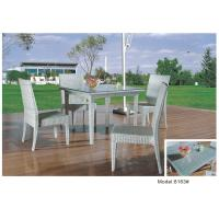 Buy cheap 4pcs armless dining chairs with sturd table-8163 from wholesalers