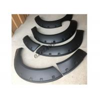 China Navara NP300 Pickup Fender Flares Wheel Arch , PP Material Fender Trims wholesale