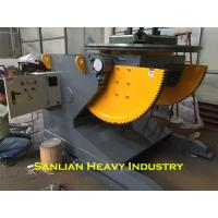 China 5T Rotary Pipe Positioner With 2000mm Welding Table VFD Control Rotation Speed wholesale