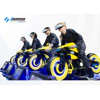 China Challenging VR Racing Game VR Moto Multiplayer Competing Machine 360 Degree View wholesale