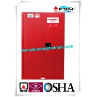 Quality Explosion Proof Chemical Safety Storage Cabinets 45 Gallon For Industry Paint for sale