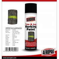 China Aeropak Quick Dry Aerosol Tree Log Marking Paint For Wood wholesale