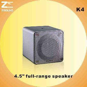 China K4 4.5′ Portable Full Range Speaker wholesale