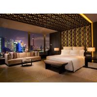 China Luxury Apartment Furniture Sets / Wooden Hotel Style Bedroom Furniture wholesale