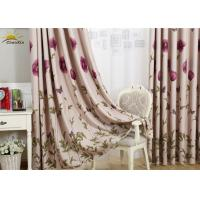 China Interior Decorative Jacquard Window Curtains For Bedroom Yarn Dyed Pattern wholesale