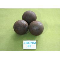Quality High Hardness Unbreakable Forged Grinding Steel Ball for Mines / Chemical Industry for sale