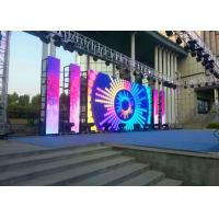 Stage P6 Outdoor LED Display , LED Video Curtain Rental 6000nits High Brightness