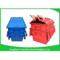 China Plastic Storage Attach Lid Containers 600 * 400mm Assorted Height wholesale