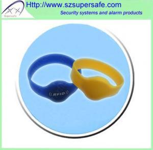 China RFID Silicone Wristband / Silicone Bracelet wholesale