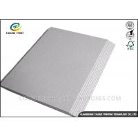 China Mixed Pulp Laminated Packaging Materials Grey Board With Good Stiffness wholesale