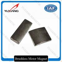 China NdFeB Arc Tiles Neodymium Permanent Magnets High Performance For Linear Motors on sale