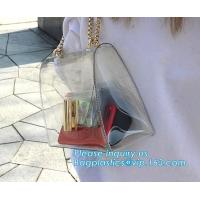 China Waterproof Tote Bag for Teen Fashion And Classy woman, Durable Clear Pvc Zipper Bag Backpack For Best Price, PVC Shoulde wholesale