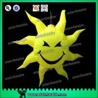 China Party Hanging Decoration Inflatable Smile Sun Customizd Sun Sphere wholesale