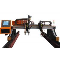 China Gantry type CNC plasma Cutting Machine 3000mmx10000mm cutting area on sale