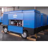 China Liutech Portable Screw Air Compressor For Hole Drilling Diesel Engine Driven wholesale