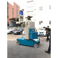 Quality 360 Degree Rotation Self Propelled Aerial Lift 7.5m Mast Type Boom Lift for sale