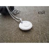 China Elegant & unique fashion design 925 silver jewellery round pendant W-VB836 wholesale