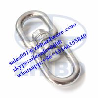 Quality Made in China High quality Stainless steel double eye swivel eye and eye swivel for sale