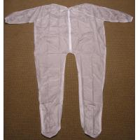 China 4Mil 5Mil 6Mil Thickness Clear or White Mortuary Garments Vinyl Unionalls Heat Sealed wholesale