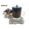 China 2S400 Series Pneumatic Solenoid Valve 1 1/2'' Pipe Size Volume Medium Pressure wholesale