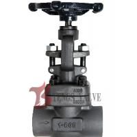 China Metal Seat Forged Steel Globe Valve Handwheel Operated J11H CL800 SW / NPT wholesale