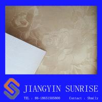 China Home Seamless Decorative Leather Modern Floral Wallpaper For Living Room on sale