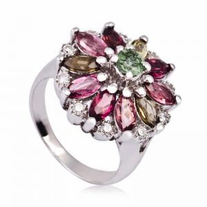 China Fashionable Crystal Silver Rings K-BC-A653 wholesale
