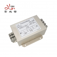 China Three Wire Multi Stage 1450VDC 3 Phase EMI Filter 10A 30MHZ wholesale