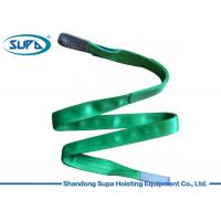 China Polyester Round Lifting Accessories For Cranes 1m - 10m Endless Web Sling wholesale