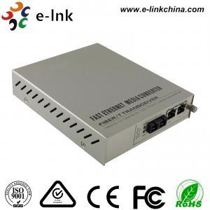 Quality Managed Gigabit Ethernet Fiber Media Converter 2- Port 10 / 100 / 1000Base-T to for sale