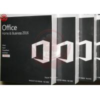 China Microsoft Office Home And Business 2016 For Mac Retail Key Online Activate wholesale
