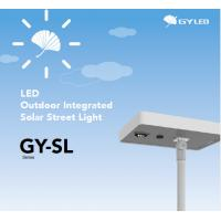 China IP65 10W-40W All In One Solar LED Street Light 25 Years Solar Panel Lifespan wholesale