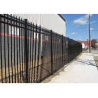 China 1800mm 2100mm 2400mm High x 2400mm Wide Steel Fence Used For Road on sale