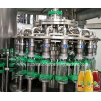 China Twist Off Cap Glass Bottle Filling And Capping Machine Small Scale Filler wholesale