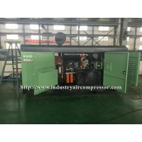 China Diesel Driven Screw Air Compressor Easy Serviceability For Water Well Drilling Rig wholesale